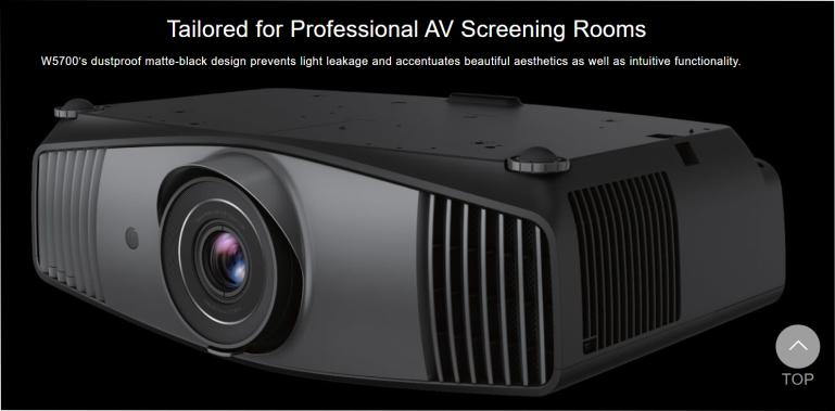 W5700 - Cinema Projector   BENQ